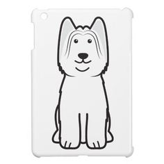 Briard iPad Mini Case