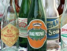 free printable vintage soda bottle labels