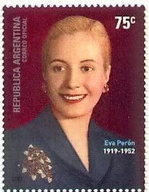 May 7, 1919: Eva Peron, who was a powerful political influence as the wife of the president of Argentina, was born.