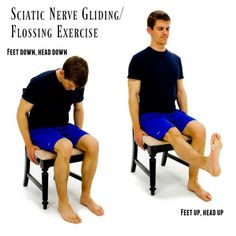 sciatic nerve gliding flossing exercise Source by Sciatic Nerve Relief, Sciatica Pain Treatment, Sciatic Pain, Sciatica Stretches, Sciatica Symptoms, Yoga Exercises, Sciatic Nerve Exercises, Model, Sciatica