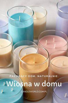 Wiosna Dekoracje Domu Swieczki Pomysly Na Wyposazenie Wnetrz Kwiaty Bez Piwonia Bukiet Kwiat Bzu Candle Lite Tea Light Candle Tea Lights
