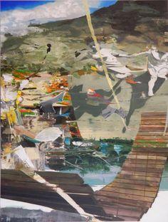 http://www.boumbang.com/giuseppe-gonella/ © Giuseppe Gonella, born on the sun, 150 x 200 cm, 2012