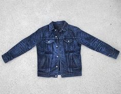 3sixteen denim jacket #indigo #blue #jeans #rugged #menswear #mode #style #fashion