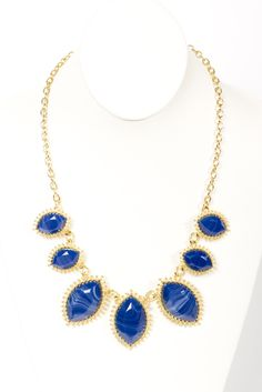 Tailored Statement Necklace