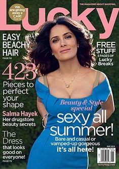 """Salma Hayek is one of those beauties who's so striking, so breathtaking that it's hard to imagine she ever went through an awkward phase. But the Mexican-born star insists otherwise. """"My skin?! When I was 25 and I left being … Continue reading →"""