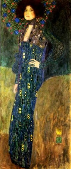 Klimt, portait of Emilie Flôge