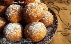 Egyszerű túrófánk recept fotóval Baked Potato, Hamburger, Muffin, Sweets, Bread, Baking, Breakfast, Ethnic Recipes, Food