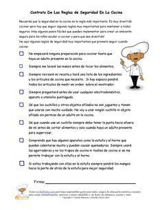 Contrato del Chef Solus de Reglas Para la Seguridad en la Cocina