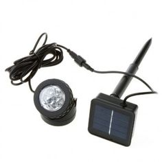 Luz LED de Energia Solar à Prova D'água e de Poeira para áreas externas e Piscina - TOMTOP