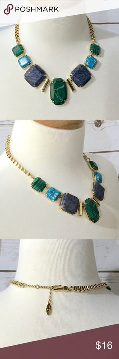 💚Ann Taylor -Stone Necklace 💚 Ann Taylor stone necklace. No tarnish and in perfect condition! No damage! Ann Taylor Jewelry Necklaces