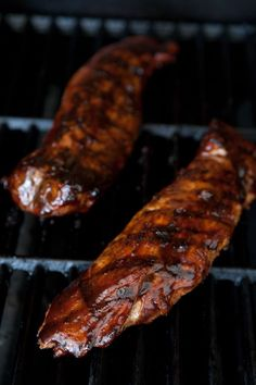 BBQ Pork Tenderloin by EclecticRecipes.com #recipe