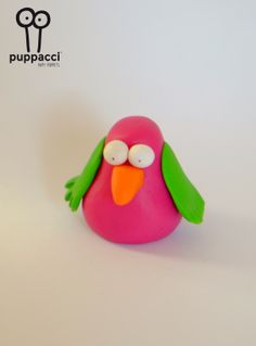 Tordo: handmade dopy puppet.  Material: fimo #fun #puppet #puppacci #stupidera  Shop here: https://www.etsy.com/it/listing/181581462/tordo-handmade-puppet?ref=listing-shop-header-0