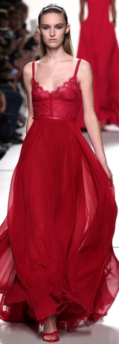 Love the color - don't care for the top. Elie Saab