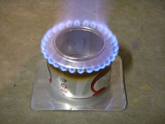 Soda can stove by Brian's Backpacking Blog, via Flickr