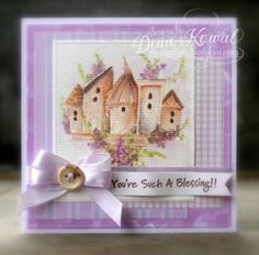Birdhouses by dini - Cards and Paper Crafts at Splitcoaststampers