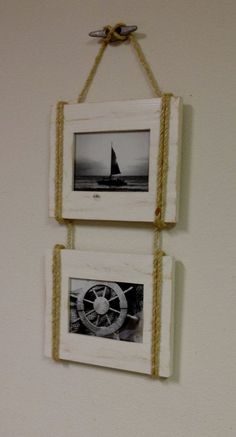 DIY Nautical Long Distance Frame | ldr13
