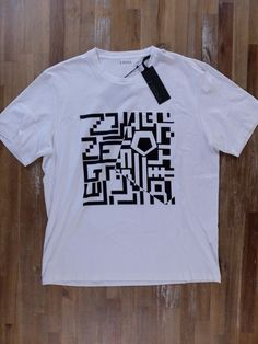 auth Z ZEGNA ZZEGNA white print t-shirt - Size Large L - NWT | Clothing, Shoes & Accessories, Men's Clothing, T-Shirts | eBay!
