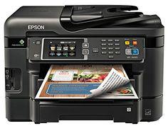 Epson WorkForce WF-3640 Wireless Color All-in-One Inkjet ...