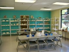 Glazed Expectations ... they offer a paint-your-own ceramic studio, after school sculpture classes and summer camps