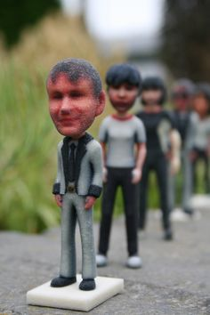 ShapeMe...How to make friends and other miniature people with 3D printing...Brilliant!