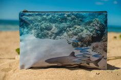 Large Reef Shark Clutch 1 by AliciAFranco on Etsy, $30.00