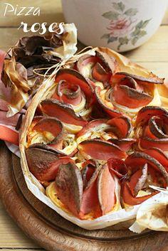 """Пица """"Букет от рози"""""""