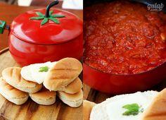 Creme de Tomate com Sanduíches