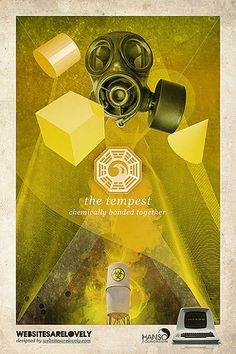 LOST DHARMA Initiative stations posters