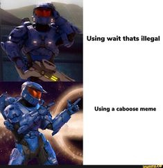 Bet no one thought of this before Super Funny, Funny Cute, Halo Funny, Funny Images, Funny Pictures, Red Vs Blue, Dankest Memes, Jokes, Film Books