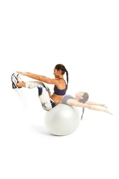 Wall Curl-Up: works your abs and obliques.