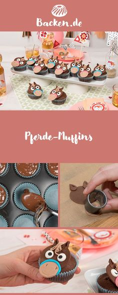 Pferde-Muffins Horses and riding are real life issues of a six-year-old. With these sweet horse muffins you are well prepared for the next horse party. Fun Wedding Invitations, Birthday Invitations, Wedding After Party, Lemon Muffins, Horse Party, Healthy Muffins, Loose Leaf Tea, Wedding Humor, Muffin Recipes