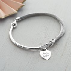 Are you interested in our gift for her? With our personalised silver bangle you need look no further.