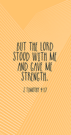 the Lord stood with me and gave me strength. Birth Affirmations, Pregnancy Affirmations, Quotes To Live By, Me Quotes, Birth Quotes, Biblical Quotes, Religious Quotes, Bible Scriptures, Scripture Memorization