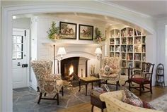 Traditional (Victorian, Colonial) Living Room by Peter Archer, AIA