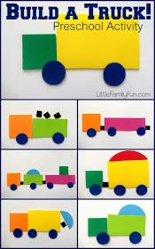 Little Family Fun: Build-a-Truck!