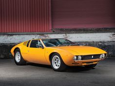 1969 De Tomaso Mangusta by Ghia | New York - Driven By Disruption 2015 | RM Sotheby's