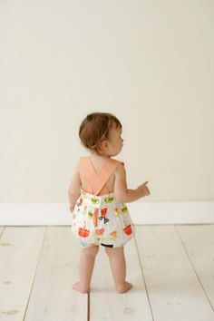 Baby Romper - Lemonade Couture