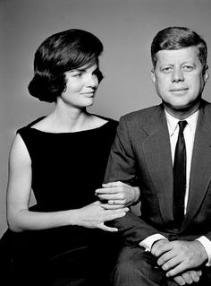 """Now, I think that I should have known that he was magic all along. I did know it - but I should have guessed that it would be too much to ask to grow old with and see our children grow up together. So now, he is a legend when he would have preferred to be a man."" Jacqueline Kennedy"