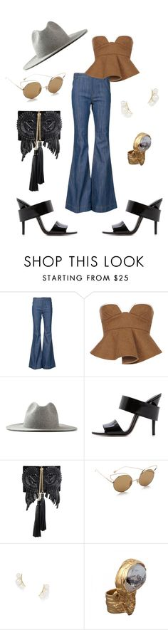 forgotten times by astridlund on Polyvore featuring Marni, 10 Crosby Derek Lam, Alexander Wang, Roberto Cavalli, Yves Saint Laurent, Jeweliq, Dita and Études