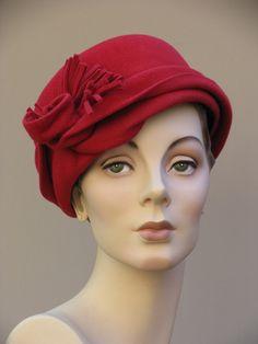f61a255f5b6 Swirl Cloche  waynewichern Vintage Fashion