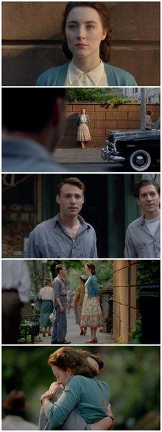 Image result for brooklyn movie last scene hug