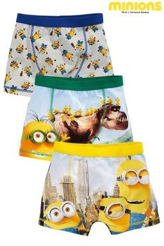 98152fa4b0 Buy Three Pack Despicable Me Trunks from the Next UK online shop