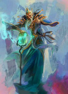 Fantasy Artwork by Jian Guo  <3 <3