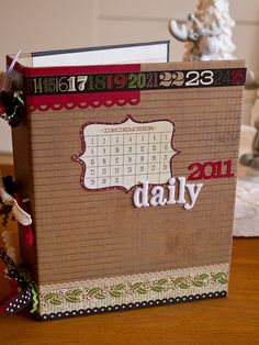 December Daily album - Keep a journal of the 12 days of Christmas or just take pictures of the fun Christmas activities!
