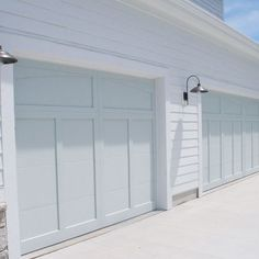 Board and batten garage style Silver Marlin Benjamin Moore Design Ideas