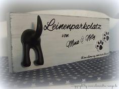 Leinenparkplatz,+Hundegarderobe,+Leinenhalter+Holz+von+Handgemachte+Holzarbeiten+&+dekorative+Geschenke+by+Alexandra+Sangs+auf+DaWanda.com