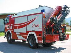 SCANIA.# Freiwillige Feuerwehr Golling ::::::: Salzburg - Schweres Rüstfahrzeug-Kran-Allrad