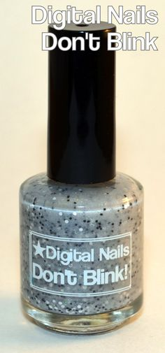 Don't Blink: a Weeping Angels inspired nail lacquer by Digital Nails. $12.00, via Etsy.