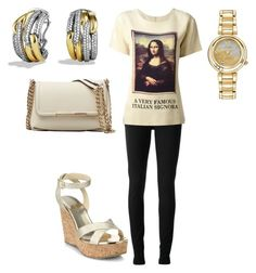 """Untitled #20465"" by edasn12 ❤ liked on Polyvore featuring Gucci, Moschino, Citizen, David Yurman, Jimmy Choo and Emilio Pucci"