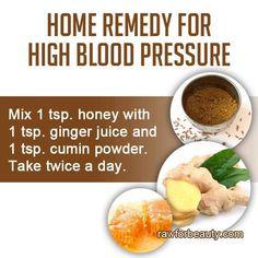 High blood pressure remedy